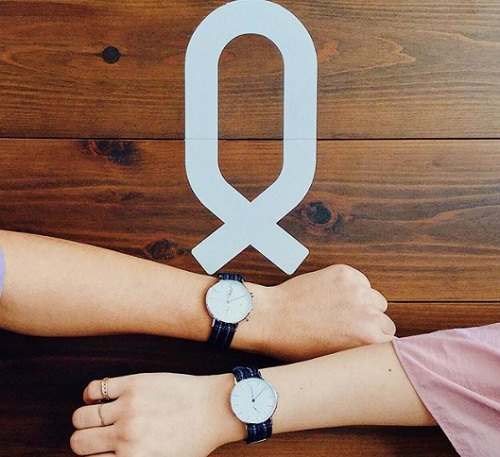 ノット男女腕時計