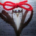 出会い愛赤い糸指輪